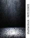 dark background shot of rain... | Shutterstock . vector #465112631