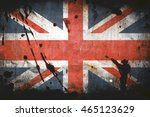 old british flag | Shutterstock . vector #465123629