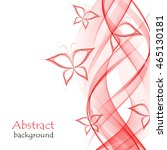 abstract background with red... | Shutterstock .eps vector #465130181