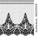 seamless lace pattern  flower... | Shutterstock .eps vector #465155519