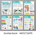 modern flat infographics of... | Shutterstock .eps vector #465171695