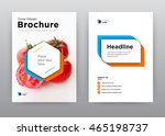 plant annual report brochure... | Shutterstock .eps vector #465198737