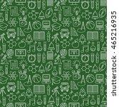 seamless vector school white on ... | Shutterstock .eps vector #465216935