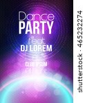 abstract modern party poster... | Shutterstock .eps vector #465232274
