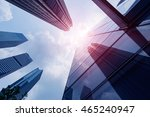 city center commercial... | Shutterstock . vector #465240947