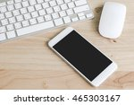 working desktop concept idea ... | Shutterstock . vector #465303167