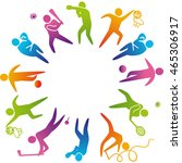 world of sports. illustration...   Shutterstock . vector #465306917