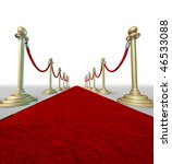 red carpet grand entrance... | Shutterstock . vector #46533088