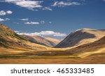 Desert Wild Mountain River...