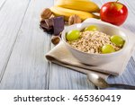Oatmeal With Apple  Banana ...
