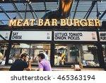 tel aviv  israel   august 2016  ...   Shutterstock . vector #465363194