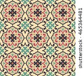seamless pattern from retro....   Shutterstock .eps vector #465364481
