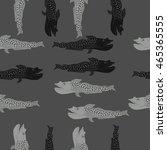 sea  pattern    hole  spots ... | Shutterstock . vector #465365555