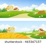 vector cartoon illustration of... | Shutterstock .eps vector #465367157