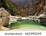 Wadi Shab In The Sultanate Of...