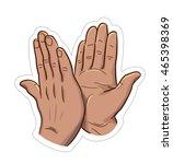 high five | Shutterstock .eps vector #465398369
