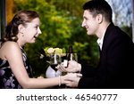 a couple at the diner  man...   Shutterstock . vector #46540777