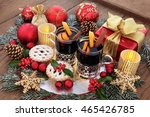 Christmas Still Life With Food...