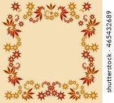floral tile pattern | Shutterstock .eps vector #465432689