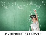 kid's learning inspiration in... | Shutterstock . vector #465459059