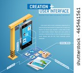process of creation of user's...