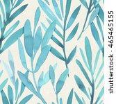 seamless watercolor pattern on... | Shutterstock . vector #465465155