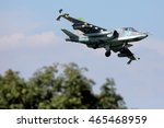 Small photo of DYAGILEVO, RYAZAN, RUSSIA - AUGUST 6, 2016: Sukhoi Su-25SM RF-92258 (NATO code name: Frogfoot) close air support airplane landing at Dyagilevo airfield.