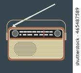 radio vector illustration | Shutterstock .eps vector #465487589