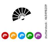 Web Line Icon. Veer  Fan