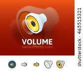 volume color icon  vector...