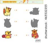 maze game   worksheet for...   Shutterstock . vector #465532355