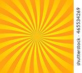 Yellow Orange Rays Poster....