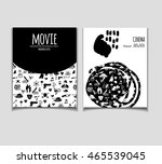 cinema vector template set....