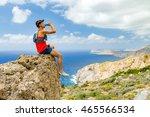 Hiker  Climber Or Runner Man...