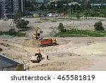 saint petersburg  russia  ... | Shutterstock . vector #465581819