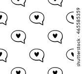 romantice seamless pattern | Shutterstock .eps vector #465585359