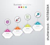 vector illustration of four... | Shutterstock .eps vector #465586064