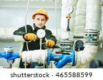technician or repairman... | Shutterstock . vector #465588599