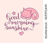Good Morning Sunshine Hand...