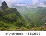 Green Vally In The Drakensberg...