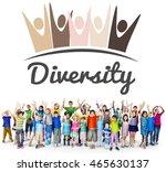 diversity nationalitise unity... | Shutterstock . vector #465630137