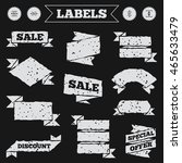 stickers  tags and banners with ...   Shutterstock .eps vector #465633479