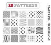 ornament patterns  diagonal...   Shutterstock .eps vector #465638987
