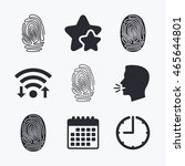 Fingerprint Icons....