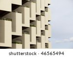 pattern composed by residential ... | Shutterstock . vector #46565494
