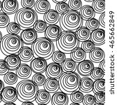 vector seamless pattern with... | Shutterstock .eps vector #465662849