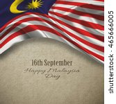 malaysia day.concept background   Shutterstock . vector #465666005