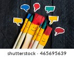 Five Art Brushes Like A Toy...