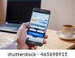 bangkok  thailand   august 8...   Shutterstock . vector #465698915