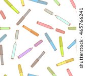 colorful  felt tip pen pattern. ... | Shutterstock . vector #465766241